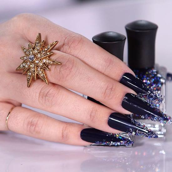 Swarovski Crystal Nails | Tutorial