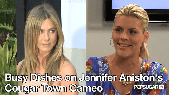 Jennifer Aniston Cameo on Cougar Town