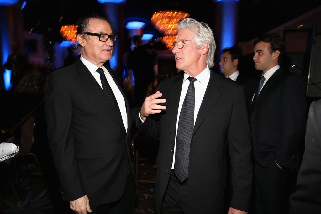 Richard Gere stepped out at the gala in Los Angeles.