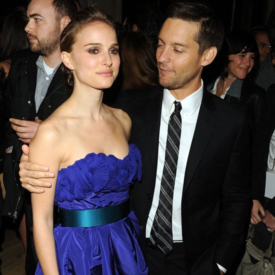 Natalie Portman and Brothers costar Tobey Maguire partied in NYC after a 2009 screening of the movie.