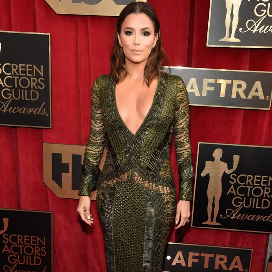 Eva Longoria's Dress at the SAG Awards Red Carpet 2016