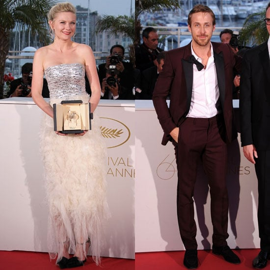 Ryan Gosling and Kirsten Dunst Cannes Golden Palm Awards