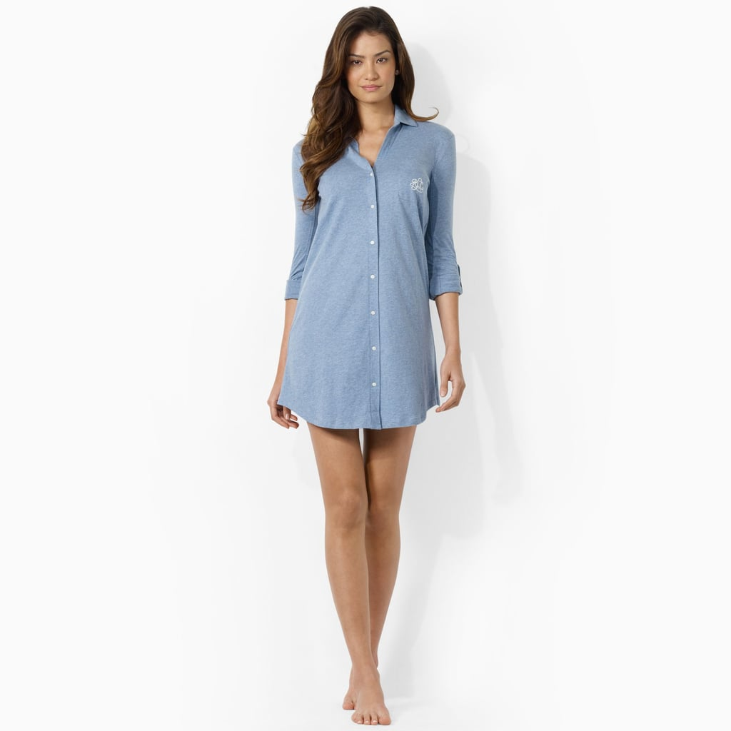 Lauren by Ralph Lauren Cotton Jersey Sleep Shirt