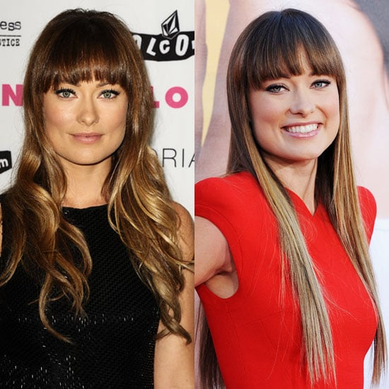 Get Olivia Wilde's Straight and Curly Hairstyles