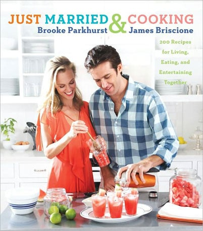 A perfect gift for wedding season! This chef husband and writer wife bring us Just Married & Cooking a collection of recipes for young couples getting into the groove of newlywed life. It seems like a match made in cookbook heaven.  Can't Wait to Taste: Bourbon Bacon and Oyster Brochettes