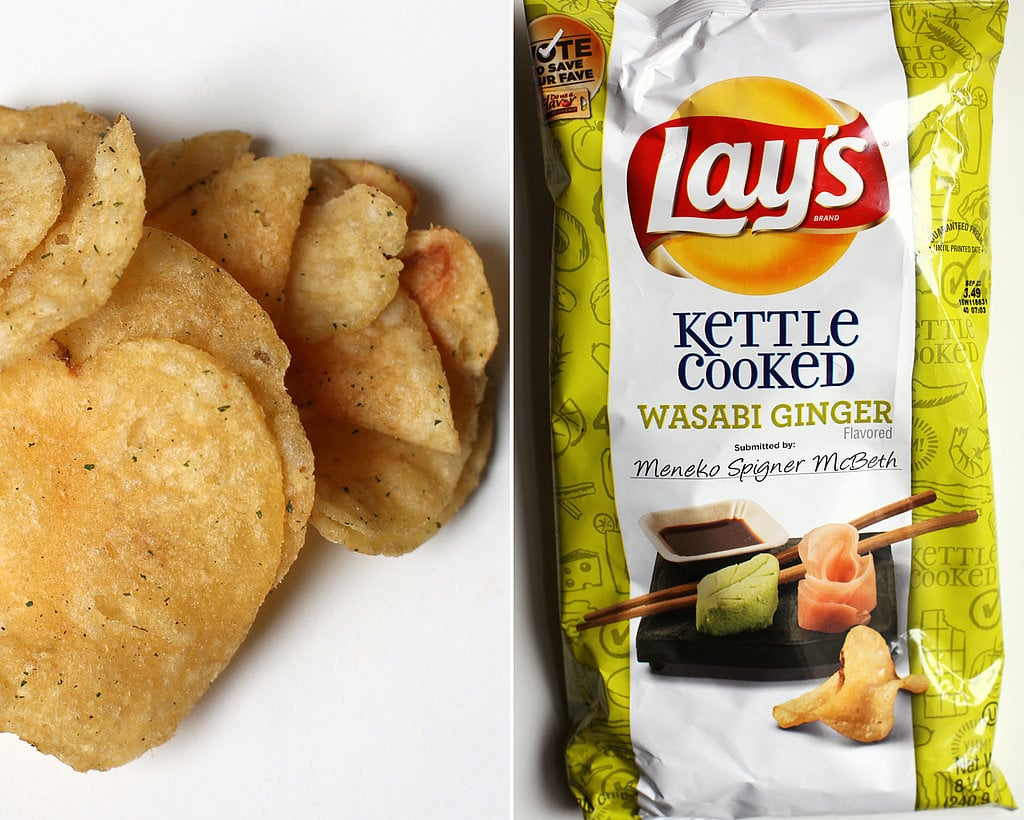 Kettle Cooked Wasabi Ginger Lay's