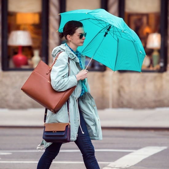 What's the Deal With Anne Hathaway's Sunbrella?
