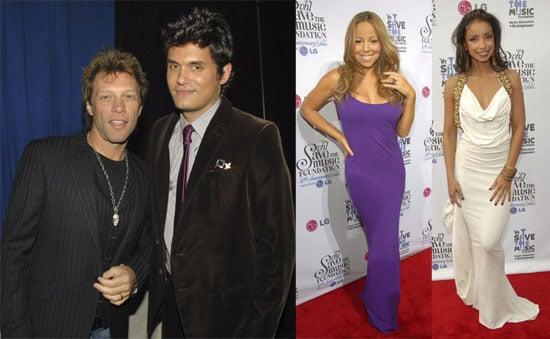 John, Mariah and Bill Save the Music