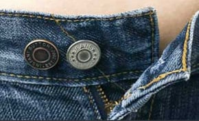 Instant Button Extends Life of Pre-Pregnancy Pants