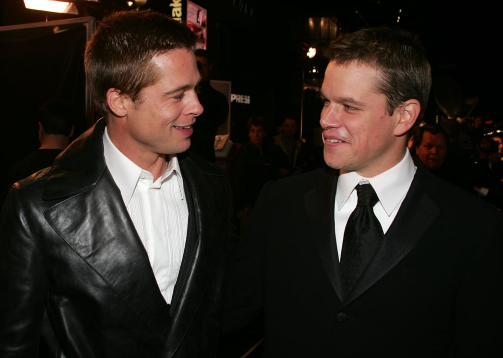 """In an interview on the Today show in 2013, Matt Lauer asked Matt Damon about his Brad Pitt impression, and he inferred it's more than just an impression:  """"I spend my life trying to be Brad Pitt."""""""