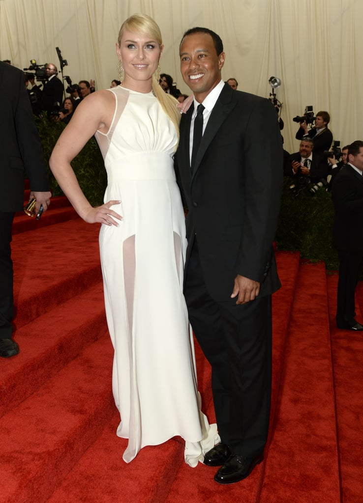Tiger Woods and Lindsey Vonn in 2013