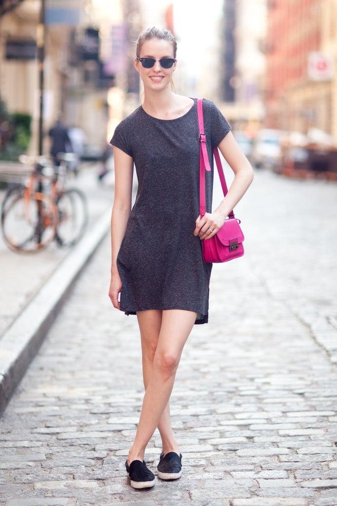 A pop of bold color has some serious styling power. Source: Le 21ème | Adam Katz Sinding