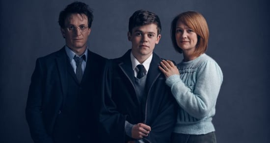 'Cursed Child': See First Photos of Harry Potter, Ginny, and Son Albus