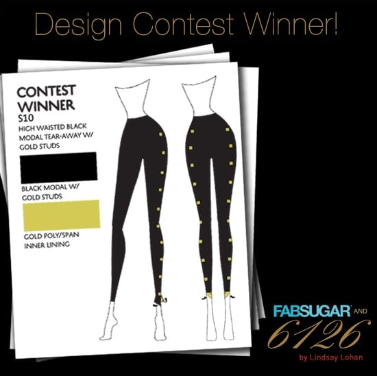 Lindsay Lohan 6126/FabSugar Leggings Contest Winner Announced