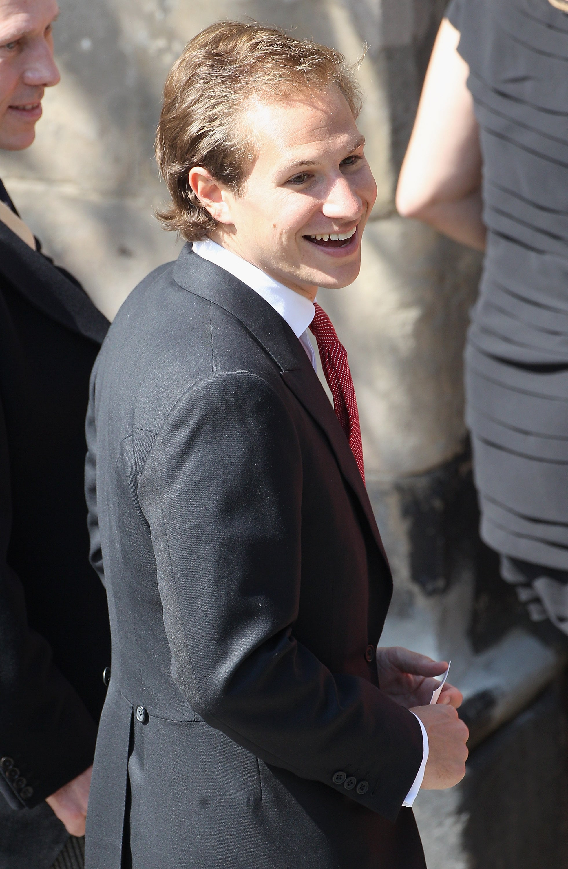 Princess Beatrice's boyfriend Dave Clark at Zara Phillips and Mike Tindall's wedding.
