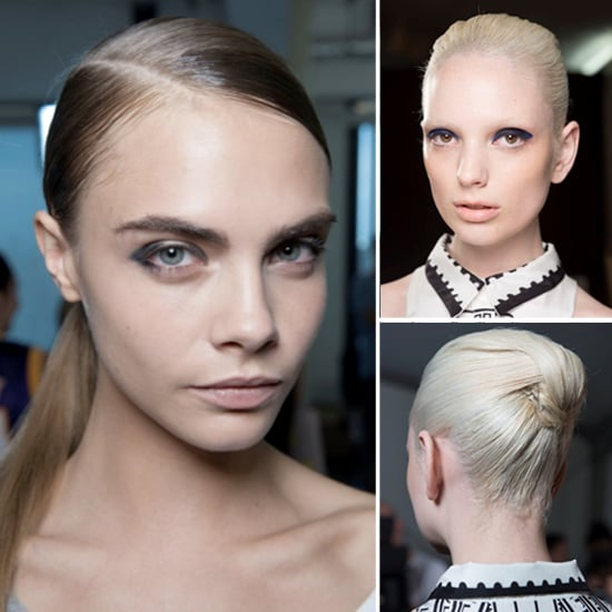 Hair How to Copy Slick Updos From London Fashion Week