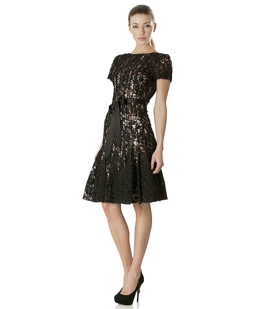 JS Collection Lace Fit-and-Flare Dress