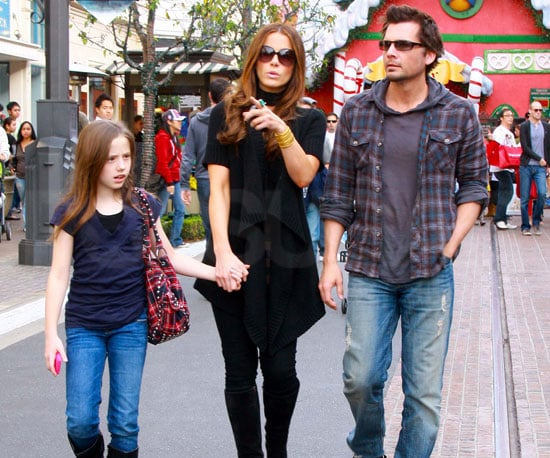 Photo Slide of Kate Beckinsale, Lily Sheen, And Len Wiseman Shopping in LA