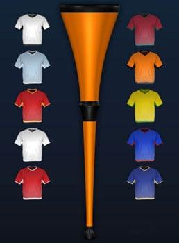 World Cup Vuvuzela Horn iPhone App
