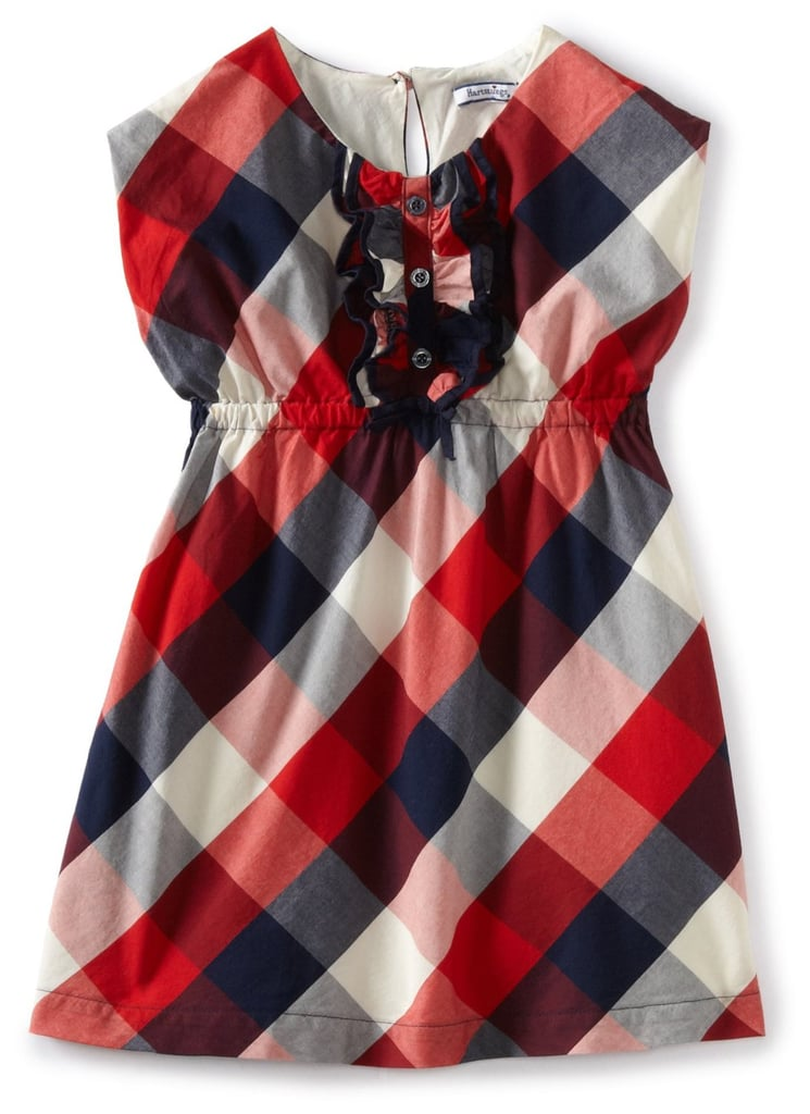 The great thing about Hartstrings's check plaid dress ($17) is that she can wear it even after the holiday.