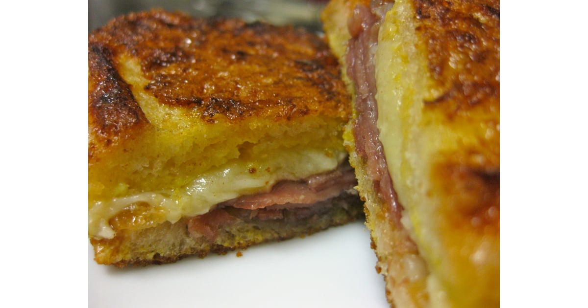Spanish Ham and Manchego Grilled Cheese Sandwich Recipe ...