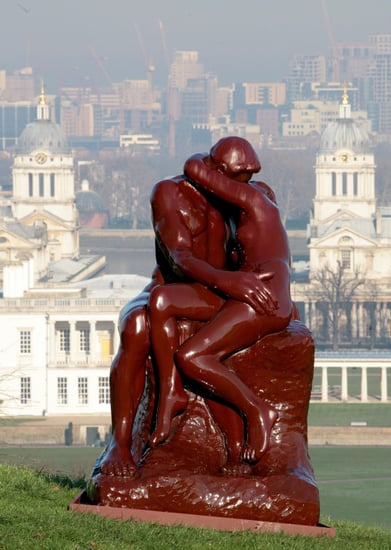 Rodin's The Kiss Recreated in Marmite