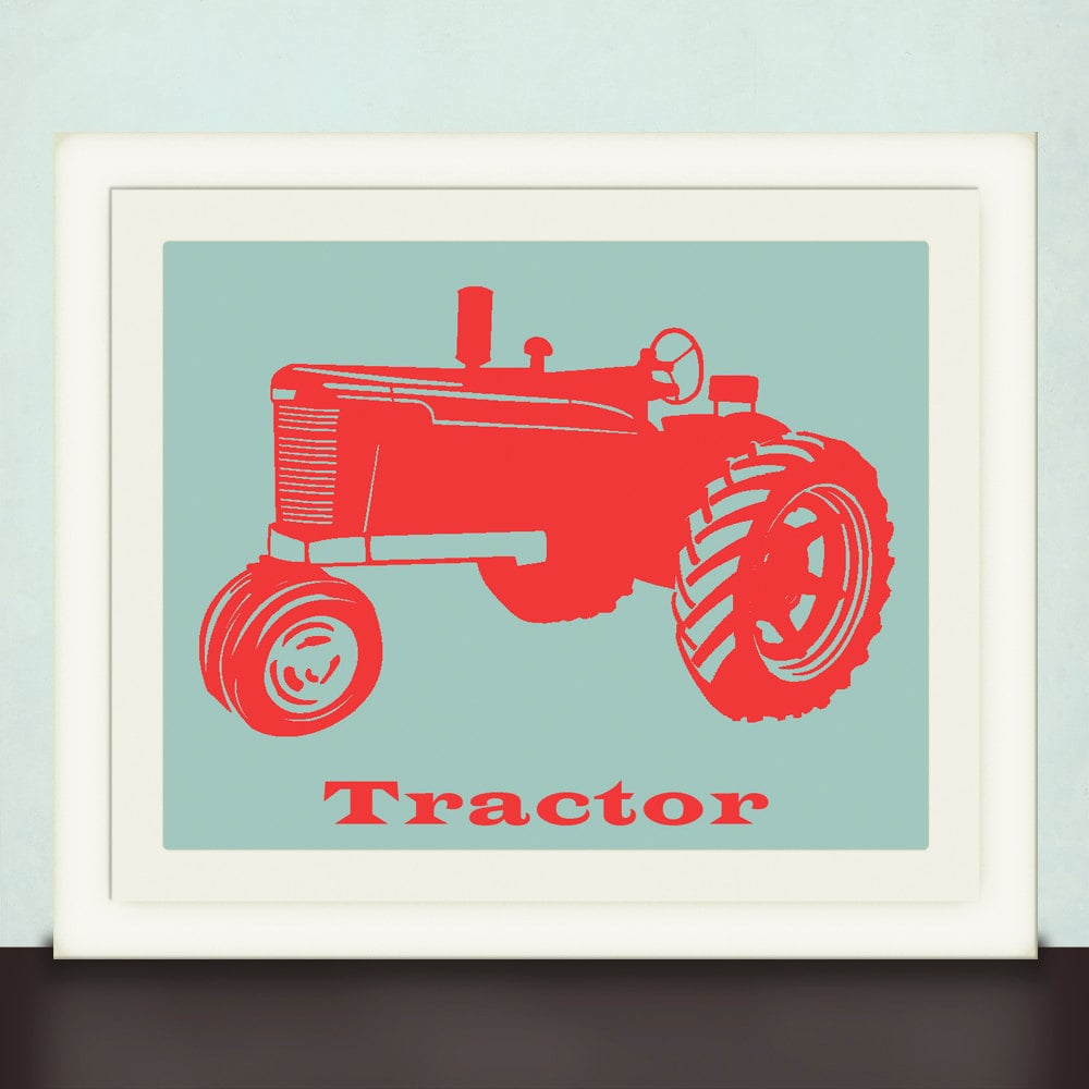 Tractor Print ($20)