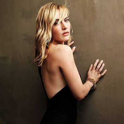 Kate Winslet showed some skin in the February 2009 issue of InStyle.