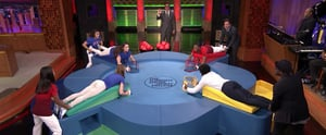 The Final Five Give Jimmy Fallon a Taste of Their Competitive Spirit in a Hilarious Tonight Show Game