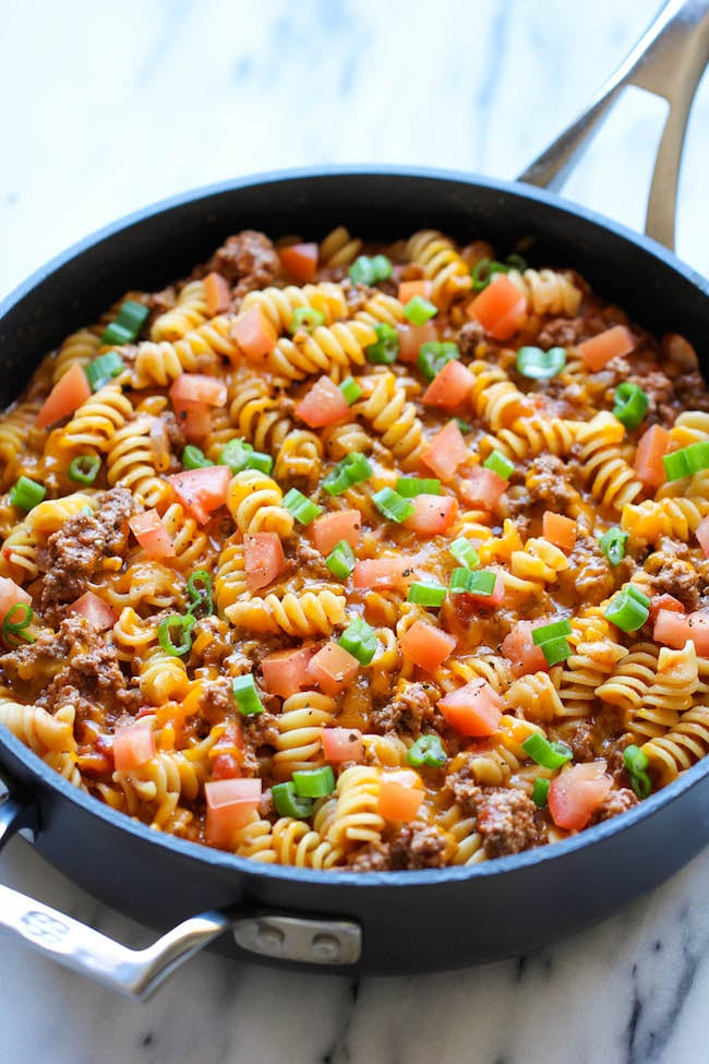One Pot Cheeseburger Casserole