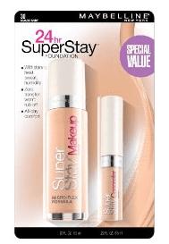 Doing Drugstore: Maybelline SuperStay 24hr Makeup and Concealer