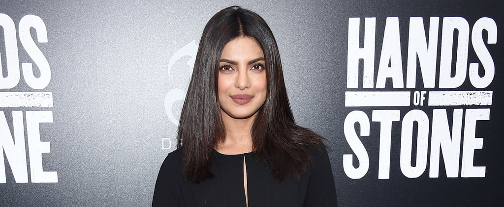 Priyanka Chopra's Little Black Romper Has a Sexy Twist You Can't See — Until She Turns Around