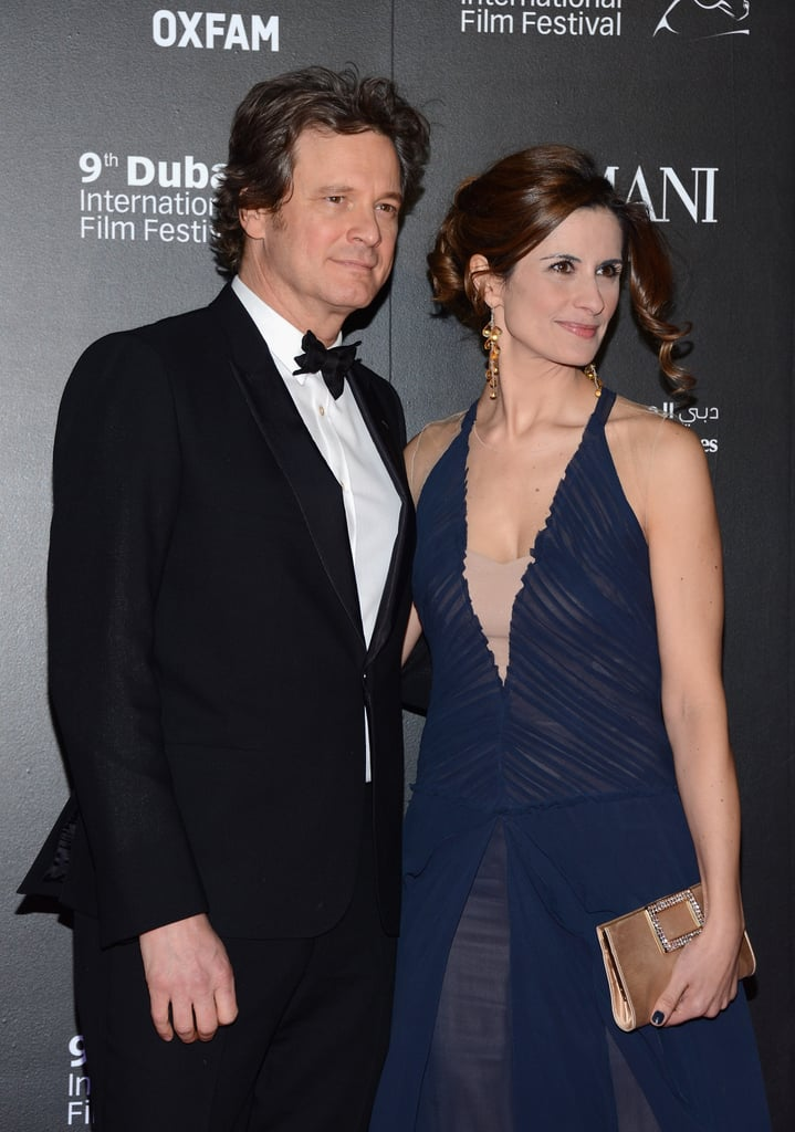 Colin Firth attended the event with his wife, Livia.