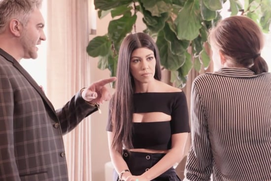 You'll Never Guess How Kourtney Kardashian Chooses Fabrics for Her Home