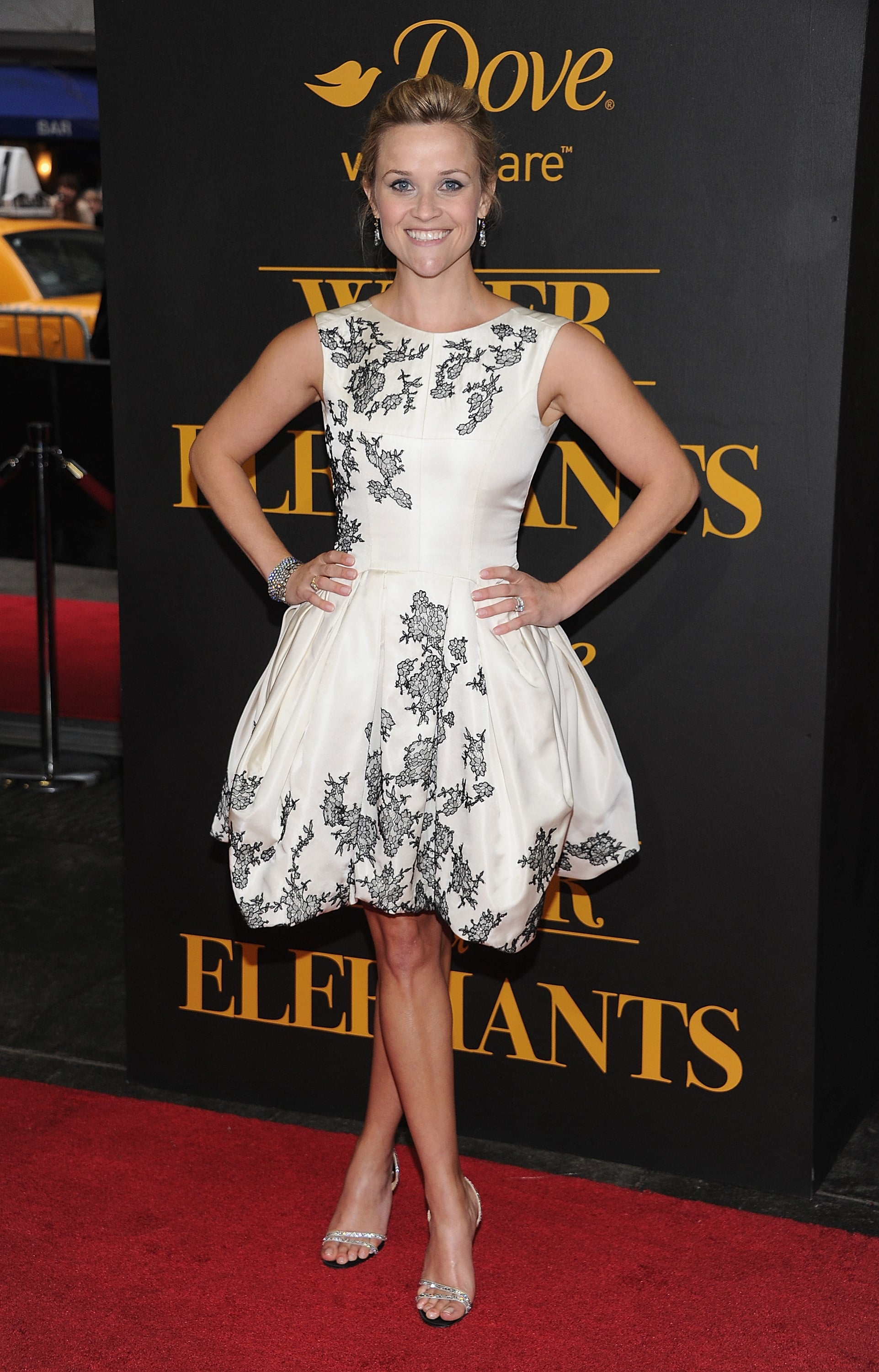 Reese Witherspoon in Jason Wu at 2011 Water For Elephants NYC Premiere