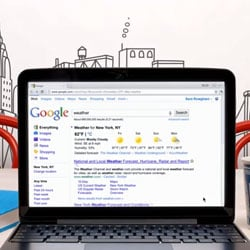 New Google Chrome Search Features