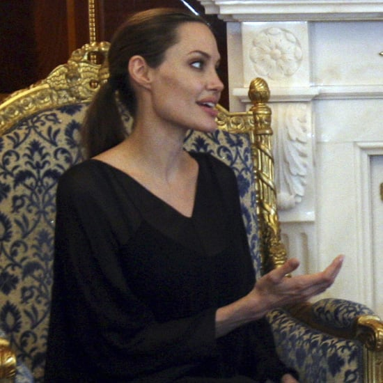 Angelina Jolie Visits Iraq | Pictures