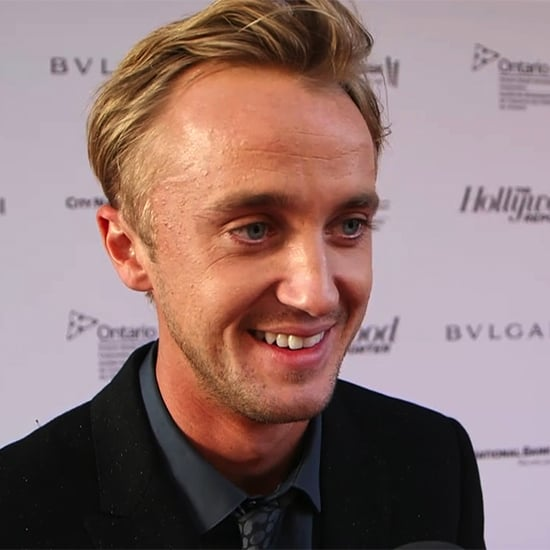 """Tom Felton on Being at TIFF With Daniel Radcliffe: """"We'll Catch Up Over a Pint"""""""