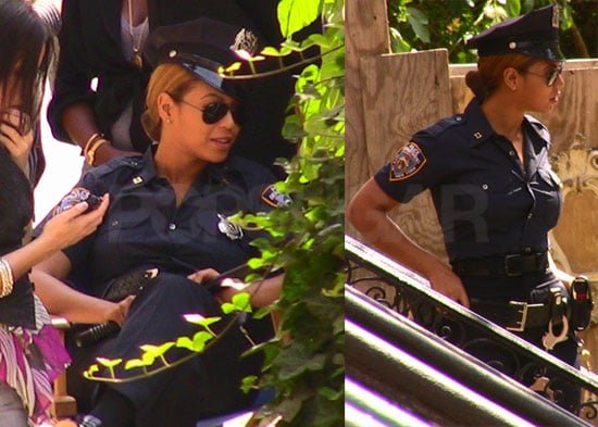 Beyonce? That's Officer Knowles to You