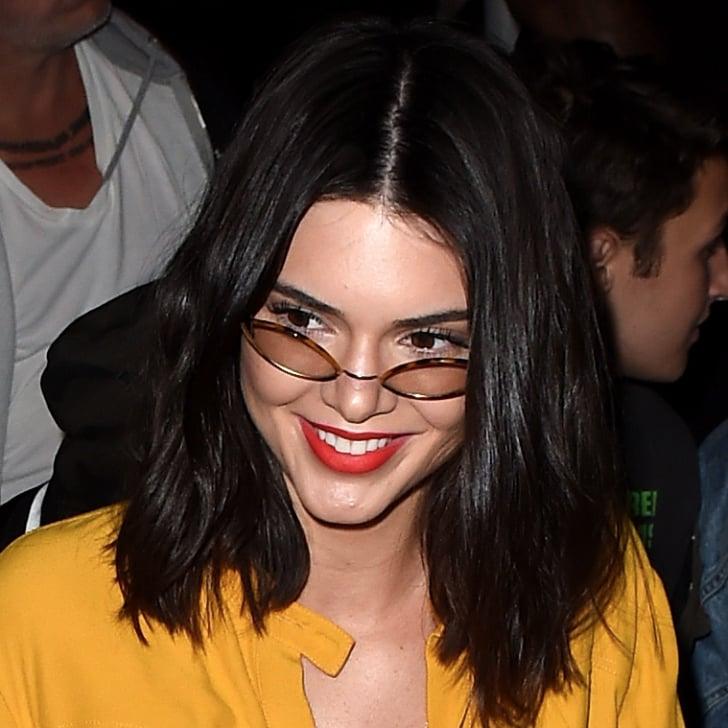 kim kardashian straight hairstyles : Kendall Jenner Haircut Hairstyle 2014 According To Parties Photos ...