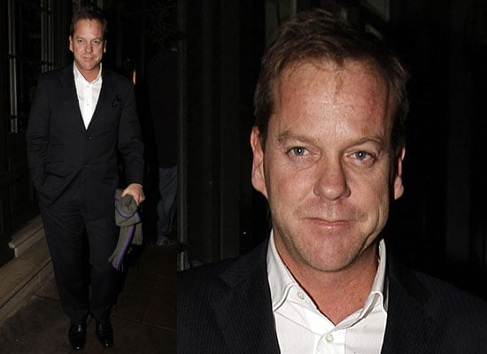 Photos of Kiefer Sutherland in London and Cast of 24 in Munich