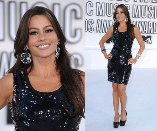 Sofia Vergara at 2010 MTV VMAs 2010-09-12 17:50:43