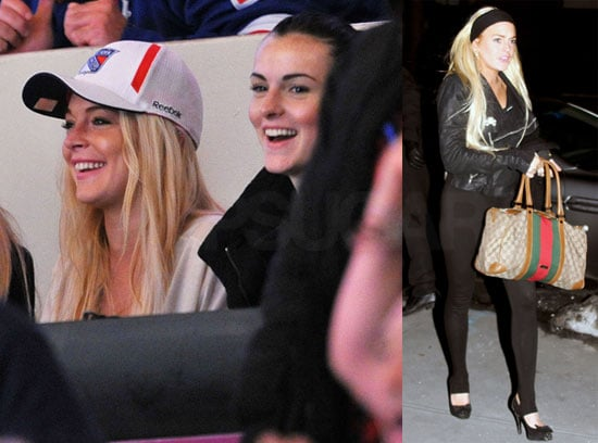 Photos of Lindsay Lohan's Weekend in NYC With Family, Not Adam Senn