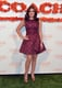 Ariel Winter wore a quirky insect-print fit-and-flare dress to the Coach benefit.