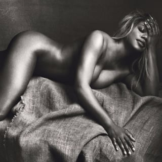 Laverne Cox Nude in Allure Magazine