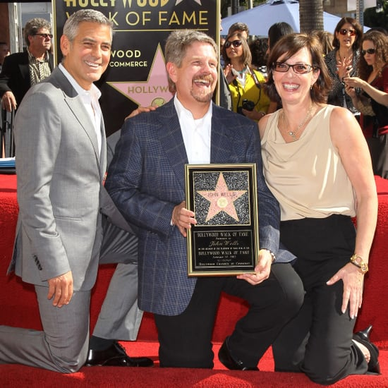 George Clooney at Walk of Fame Ceremony Pictures