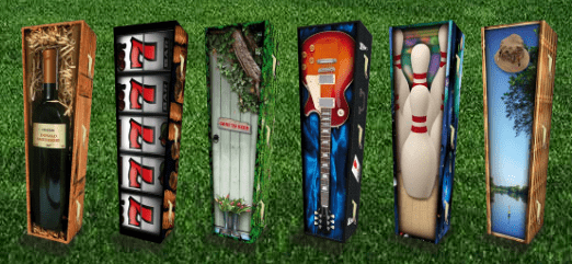 Casa Verde: Creative Coffins