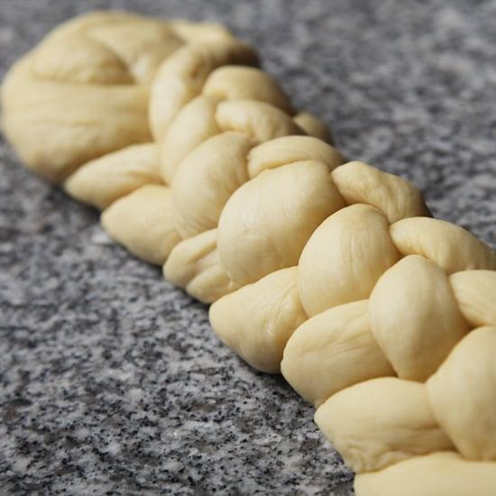 How to Braid Challah Dough