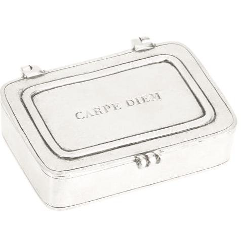 Carpe Diem Pewter Box