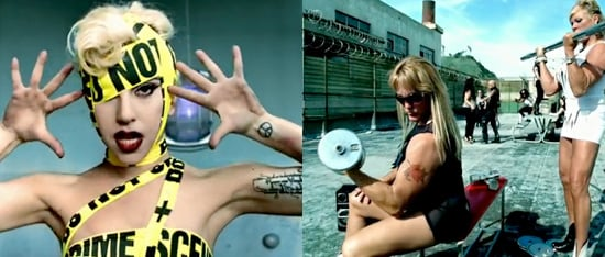 Lady Gaga and Beyonce Video For Telephone Shows Off Buff Bodies